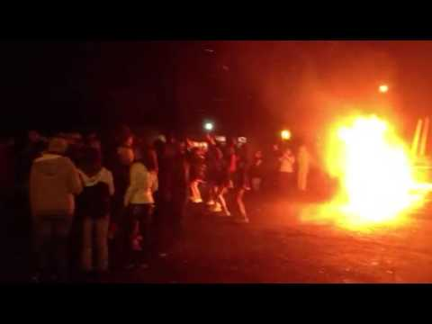Ritzville High School bonfire 3