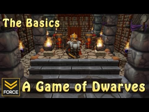 The Basics - A Game of Dwarves