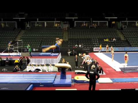 Amelia Hundley - 2012 Kellogg&#039;s Pacific Rim Championships Podium Training - Vault