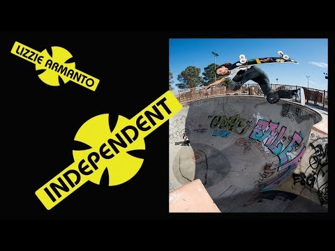 Lizzie Armanto: Independent Trucks Commercial | August 2018 Thrasher Ad