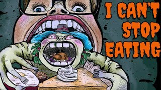Drawing My Holiday Overeating Struggle // Monster Brain | Snarled