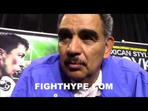 ABEL SANCHEZ SAYS CANELO ALVAREZ WOULD GET KNOCKED OUT BY GENNADY GOLOVKIN