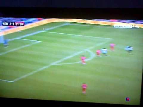 papiss cisse's great volley vs southhampton