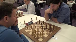 Complicated queen's endgame: GM Fridman - FM Mustaps, King's indian defense,