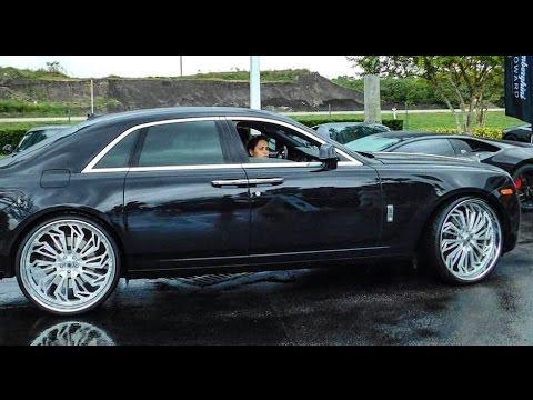 AceWhips.NET- Rolls Royce Phantom Ghost on 26's Asantis