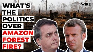 Amazon Wildfire and the Politics Over It