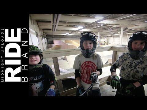 MEET THE HALAHAN BROS! FBM BIKE CO - Kids Jump Room Jam at The Wheel Mill - Winter Welcome Jam 2017