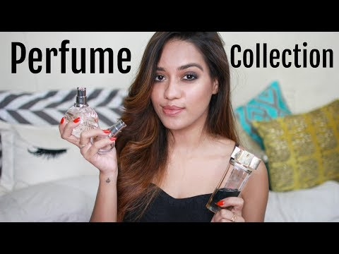 My Perfume Collection | Debasree Banerjee
