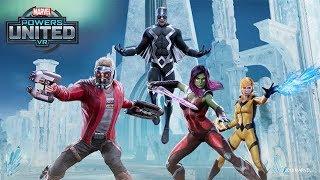 MARVEL Powers United VR   Star-Lord + Gamora Team Gameplay   Oculus Rift