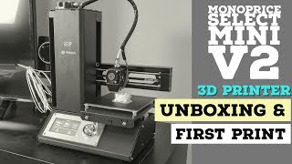 MP Select Mini V2 Unboxing & First Print