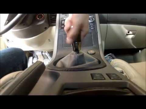 DIY: G35 Manual shift knob remove (removal)
