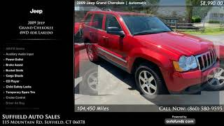 Used 2009 Jeep Grand Cherokee | Suffield Auto Sales, Suffield, CT