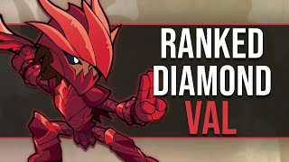 CLIMBING WITH VAL - Brawlhalla Diamond Ranked 1v1s