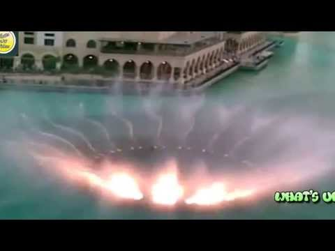 The Dancing Glory Water Fountain In Dubai ##