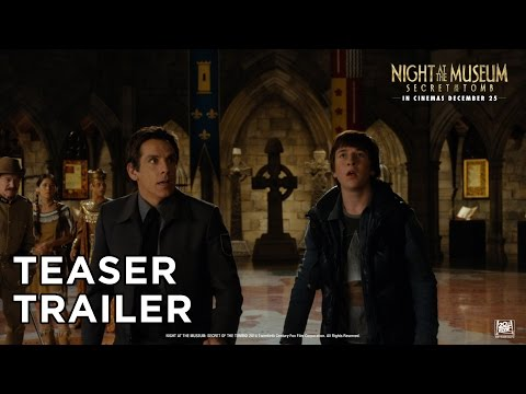 Night At The Museum:Secret Of The Tomb [Official Teaser Trailer In HD (1080p)]