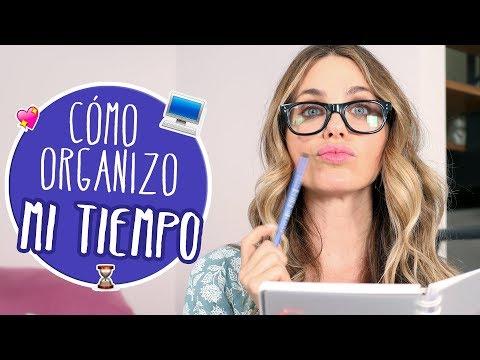Cómo organizo mi tiempo - Vanesa Romero