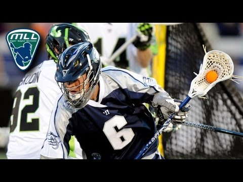 MLL Week 2 Highlights: New York Lizards at Chesapeake Bayhawks