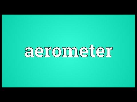 Header of aerometer