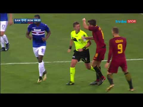 Serie A 3. Hafta Erteleme Maçı I Sampdoria 1-1 Roma Maç Özeti