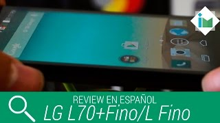 LG L70+Fino / L Fino -  Review en español