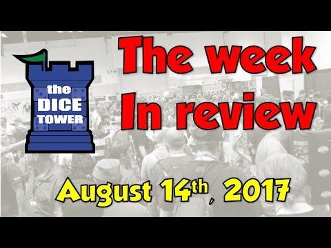 Week in Review - August 14, 2017