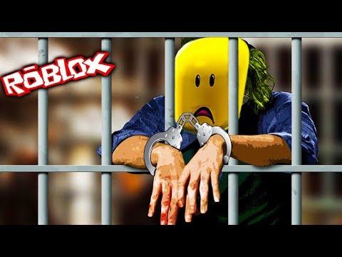Побег из Тюрьмы квадратного героя Roblox мультик игра для малышей убегаем с очень сложной тюрьмы