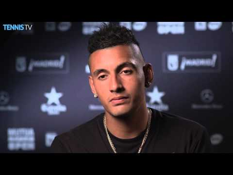 Madrid 2015 Wednesday Interview Kyrgios