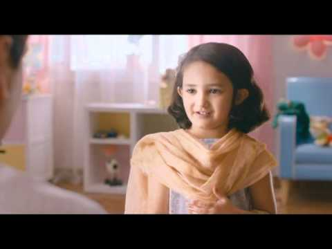 Latest Advt of Oreo Biscuit - cute little gir...