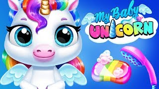 Fun Pony Care Games - Play Pet Baby Unicorn Dress Up, Feed Horse Mini Games App For Kids