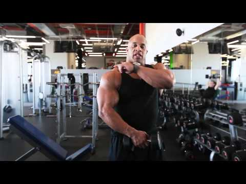 Delts workout with Victor Martinez