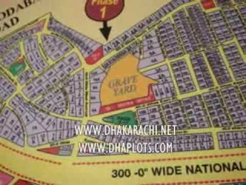 GUIDE MAP,PHASE 1 & PHASE 2, DEFENCE, KARACHI, PAKISTAN, DHA, PROPERTY REALESTATE