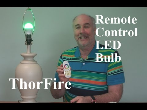 ThorFire LED Bulb And Remote Control Review | EpicReviewGuys In 4k
