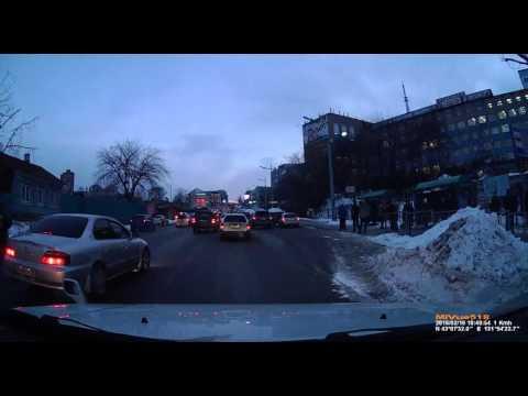 ул.Гоголя ВГУЭС Пешеход vs Авто