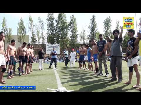 Azad Sports Kabbadi Club Spain-Kabbadi Tournament 2014 Part 2 (Media Punjab TV))