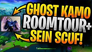 👉GHOST KAMOLRF ROOMTOUR+SEIN SCUF CONTROLLER👈 | HARMII SNIPER GOD😱 | FORTNITE DEUTSCHE HIGHLIGHTS