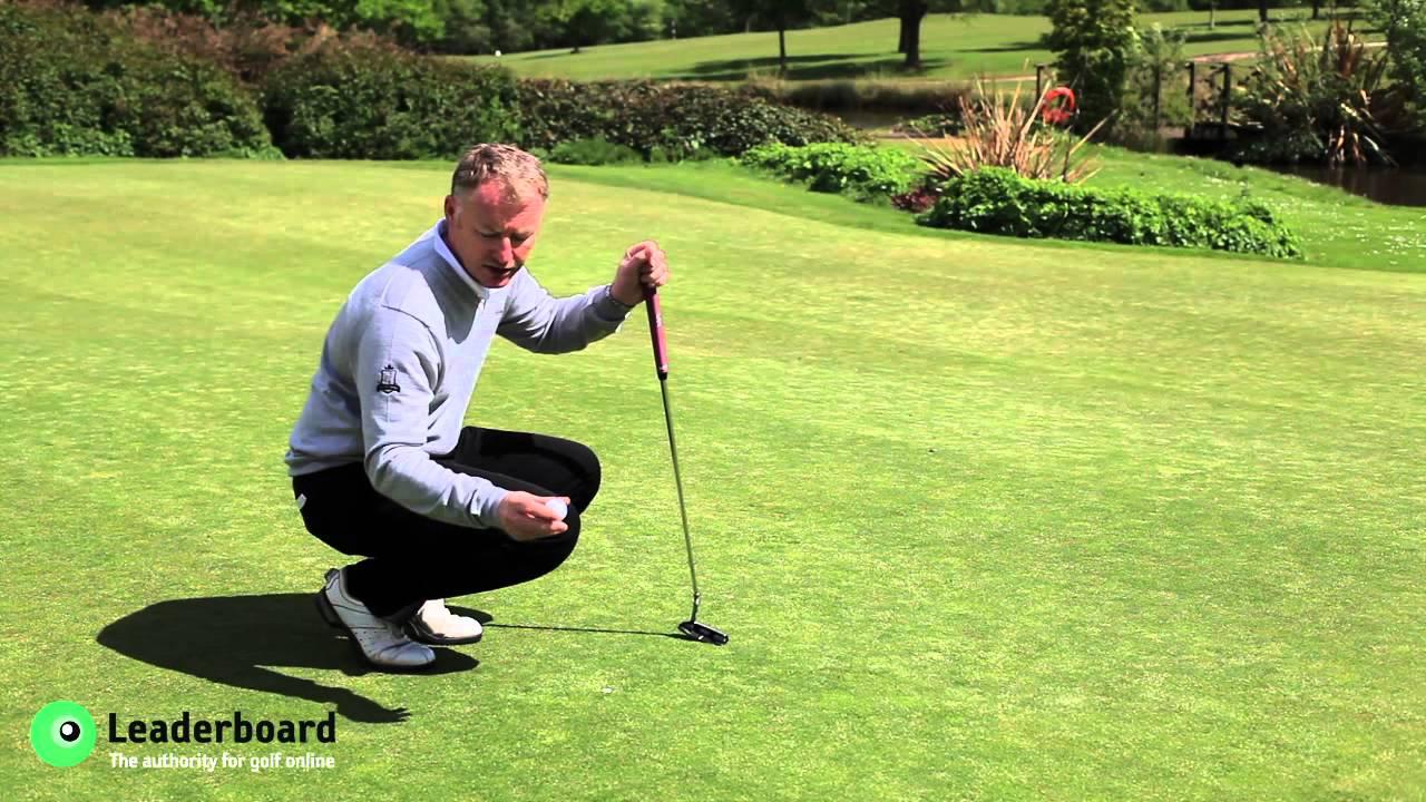 Golf Mark Golf Rules Marking Your Golf
