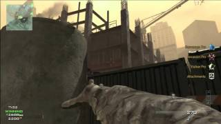 Call of Duty Modern Warfare 3 Multiplayer Gameplay #360 Hardhat