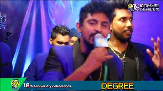 Shaa FM Live Stream - Shaa fm 18th Anniversary Celebrations with Degree