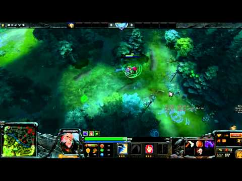 Dota 2 - Jungling as Lycan. post nerf. non-disruptive