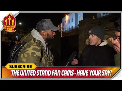 LUKAKU actually getting better Chelsea 0-2 Manchester United FanCam