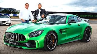 Mercedes AMG GTR REVIEW WORLD PREMIERE Lewis Hamilton Driving 2017 AMG GTR Engine Sound CARJAM TV