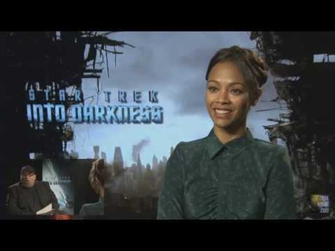 Zoe Saldana TrekMovie.com Interview - Star Trek Into Darkness
