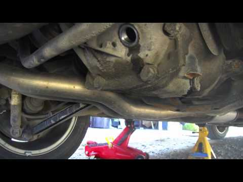 Rear Differential oil change. BMW E46 3 Series