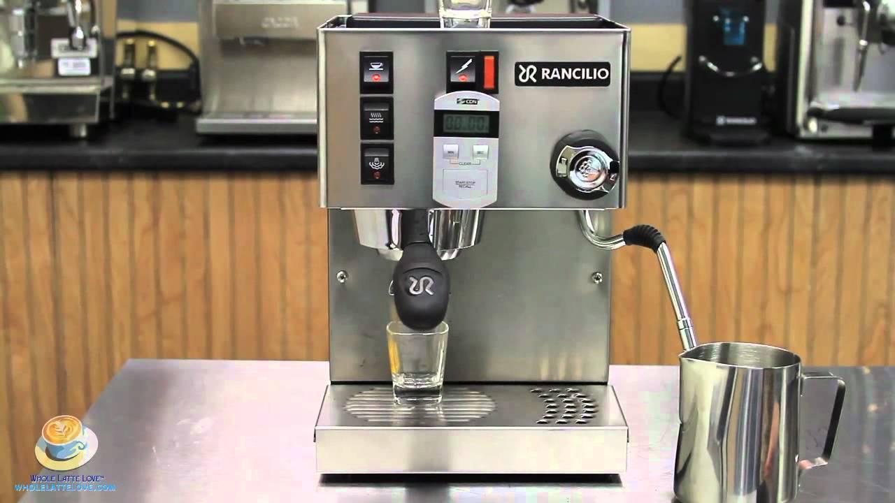 single boiler espresso machine
