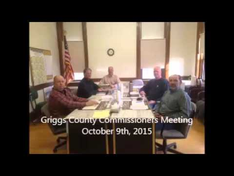 Commissioners Meeting 2015 October 9th