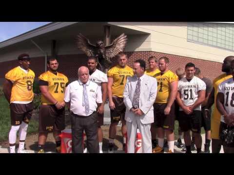 Rowan University ALS Ice Bucket Challenge - Dan Gilmore and Bob Zazzali