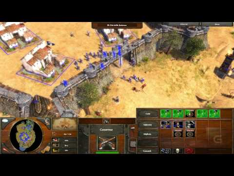 Age of Empires III gameplay completo walkthrough parte 1 in italiano ITA HD 720p