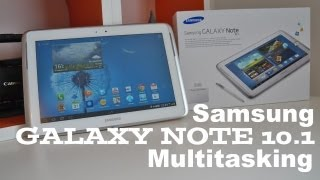 Samsung Galaxy Note 10.1 Multitasking