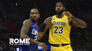 Clippers-Lakers Game Is Postponed | The Jim Rome Show