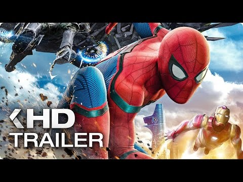 SPIDER-MAN: Homecoming ALL Trailer & Clips (2017) thumbnail